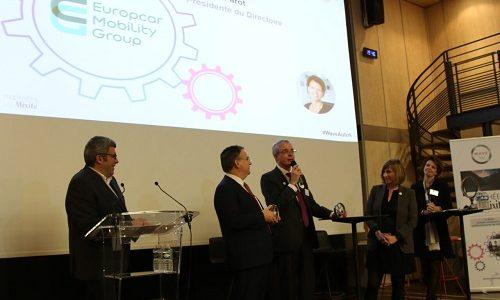 "Europcar Mobility Group awarded by ""Les Trophées de la Mixité 2020"" in the ""Global Feminisation"" category"