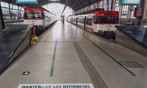 Rail Europe: Renfe and Adif signal transit and waiting itineraries for travelers at Bizkaia stations