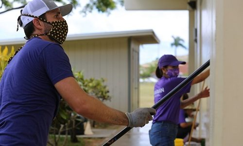 Hawaiian Airlines' volunteers, partners helping Hawaiʻi's public school campuses get ready for fall