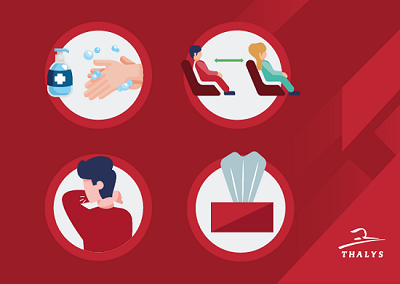 Rail Europe: Thalys Mobilized For The Health Safety Of Its Travelers