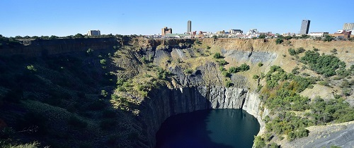 South African Airways – Kimberley, the capital of the Northern Cape province